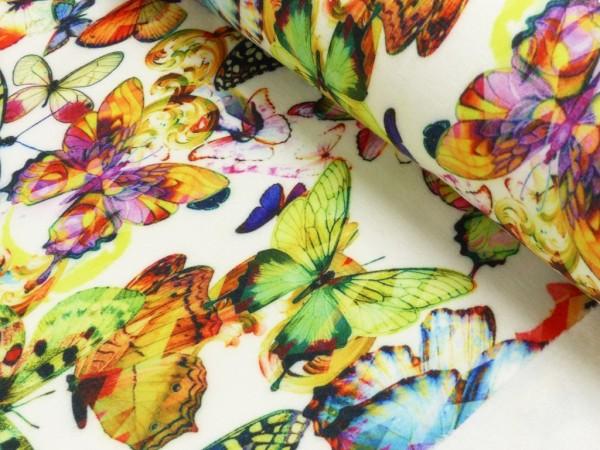 Alpen Fleece Digital Druck Schmetterlinge
