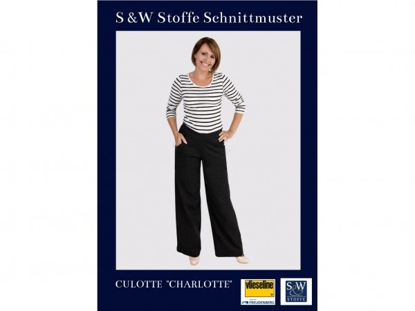 """Schnittmuster Culotte """"Charlotte"""" by S&W Stoffe"""