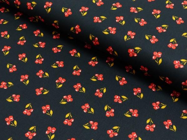 Baumwoll Druck Flower