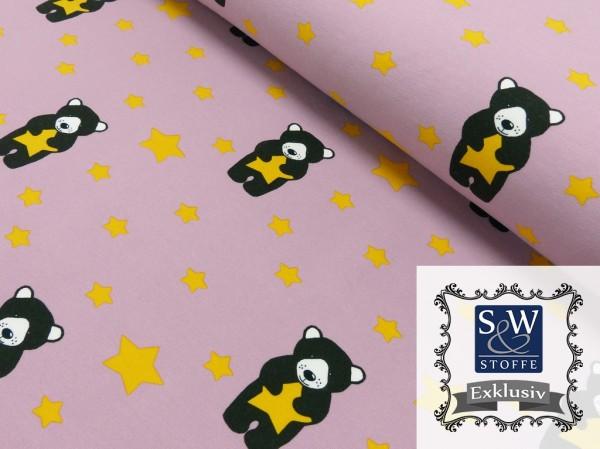 Sweatshirt Druck Linas Stern by S&W Stoffe Exklusive
