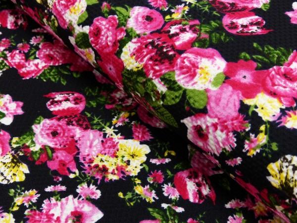 Polyester Druck Blumen