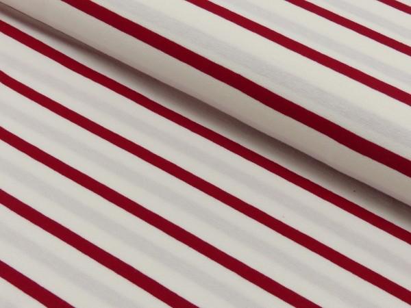 Viscose Jersey Streifen