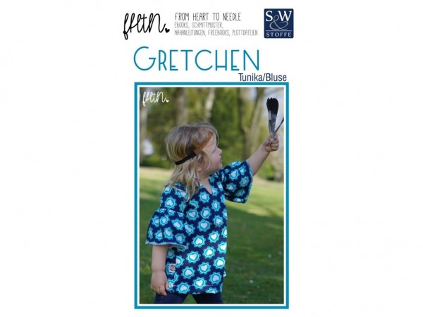 Schnittmuster Gretchen by From Heart To Needle