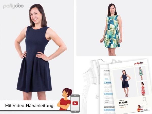 Schnittmuster Marie Damen Kleid by pattydoo