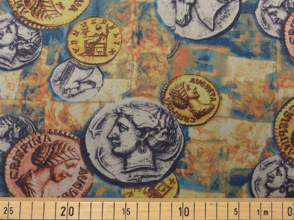 Mantelflausch Druck Münzen