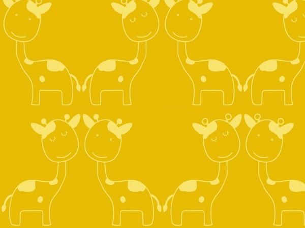 Baumwoll Jacquard Giraffe