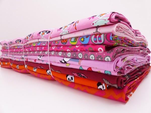 Baumwoll Jersey Paket Mädchen