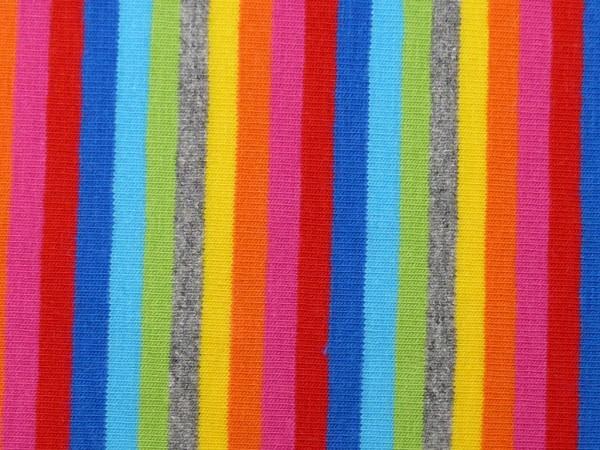 Baumwoll Jersey Multicolor Streifen