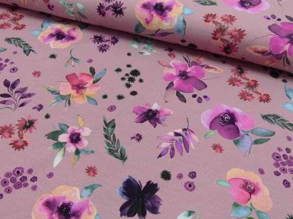 Baumwoll Jersey Druck Gypsy floral