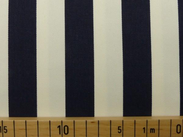 Baumwoll Köper Streifen breit