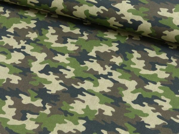 Baumwoll Druck Camouflage