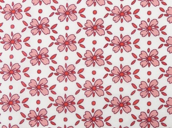 Baumwoll Druck Blumen