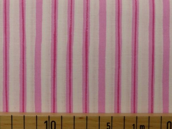 Baumwoll Druck Streifen