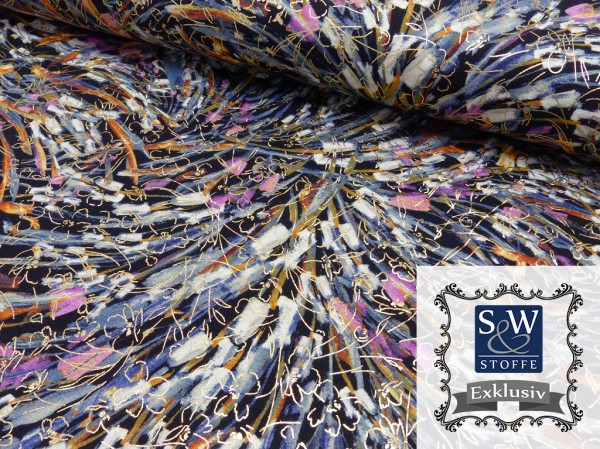 Viscose French Terry Druck