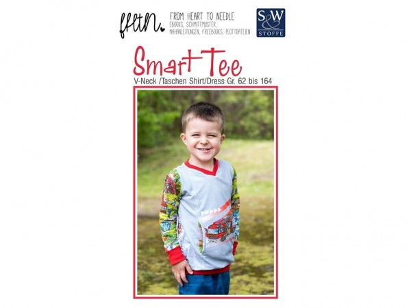 Schnittmuster Smart Tee by From Heart To Needle