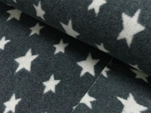 Organic Baumwoll Fleece Sterne