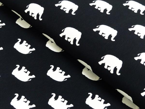 Microfaser Druck Elefant