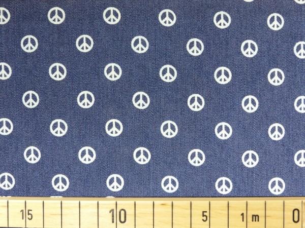 Jeans Druck Peace
